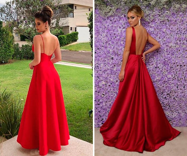 vestidos de festa modelo sereia