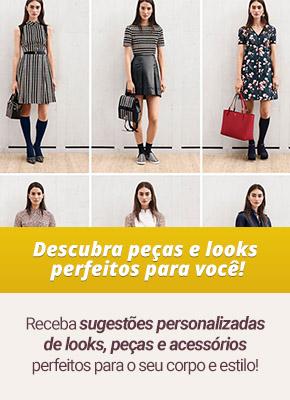 sugestões de looks para montar seu lookbook