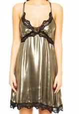 Vestido Lança Perfume Master Bronze