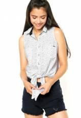 Camisa Colcci Estrelada Branca