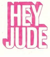 Hey Jude Tshirt