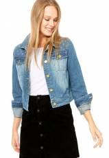 Jaqueta Jeans Azul