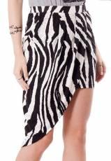Saia Assimétrica Zebra