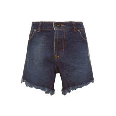 SHORT RIPPED DARK - AZUL