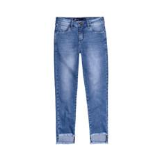 Calça Feminina Em Jeans Hering Tipo Cropped
