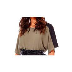 Blusa Decote Redondo