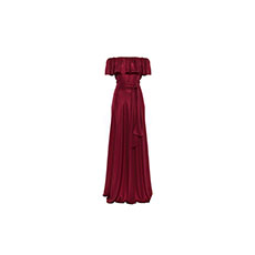 Vestido Longo Foil Evve