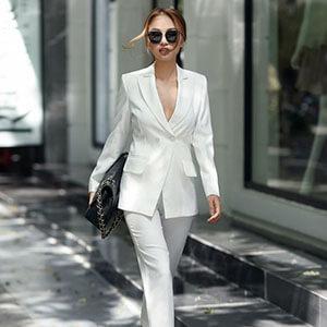 Looks com branco para você arrasar em todas as situações