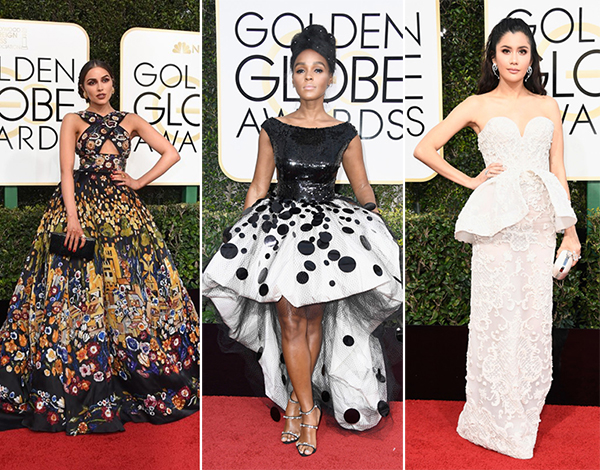 looks criativos golden globe