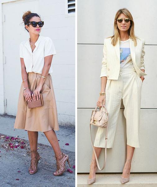 785985d34 Outra boa pedida para enfrentar o trabalho durante o verão é dar  preferência para produções com vestidos e saias. Você pode apostar tanto no  clássico ...