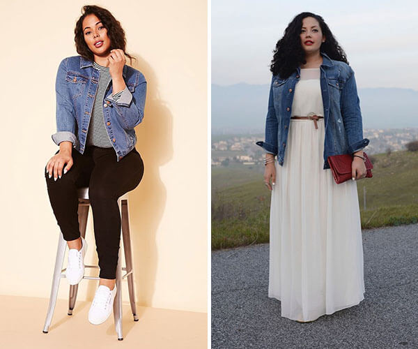 jaqueta plus size