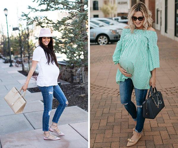 Grávida  Saiba o que vestir para se sentir bem na gravidez e7705863dab44