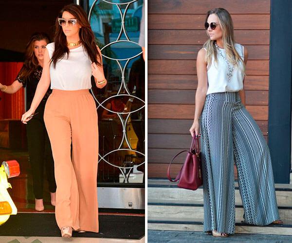 2a1dd5e942 Calça Pantalona  um clássico que veste bem todos os estilos