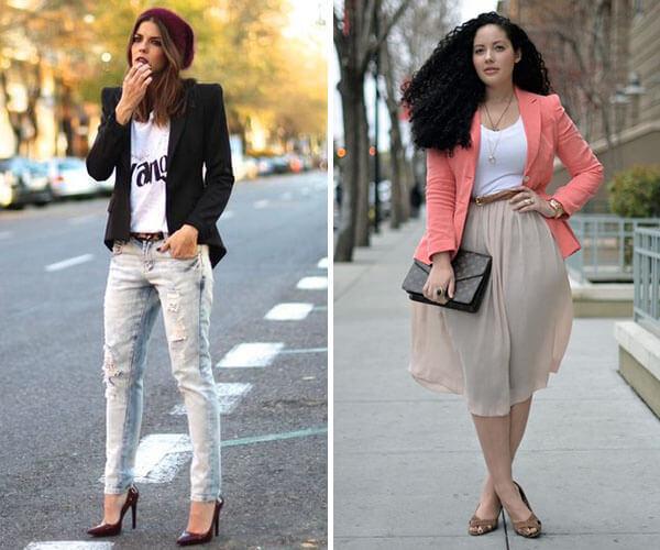 58671e43e2 20 melhores dicas para combinar o blazer feminino nos seus looks