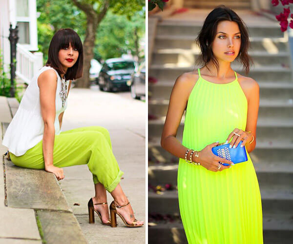 looks com tons neon