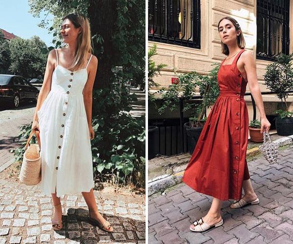 Vestido Midi Descubra Looks Perfeitos Para Arrasar Em